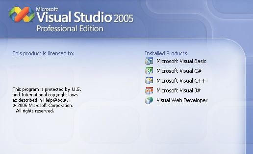 visual studio 2005 中文版