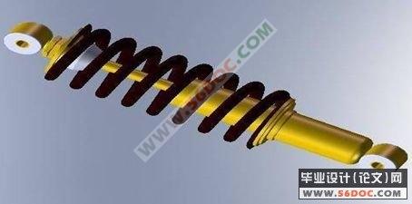 减震器的造型与设计