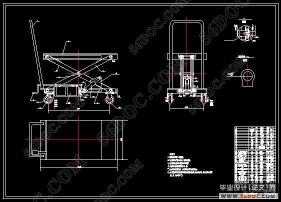 升降平台车的介绍答:升降平台车是用于高空作业维修的升降机械设备图片