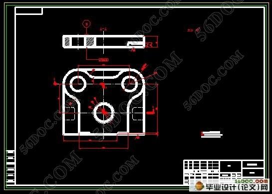 垫圈冲压模具设计图
