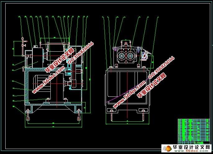 XK550开炼机(开放式炼胶机)压盖与版面底座设行为规范手抄报机架设计图图片